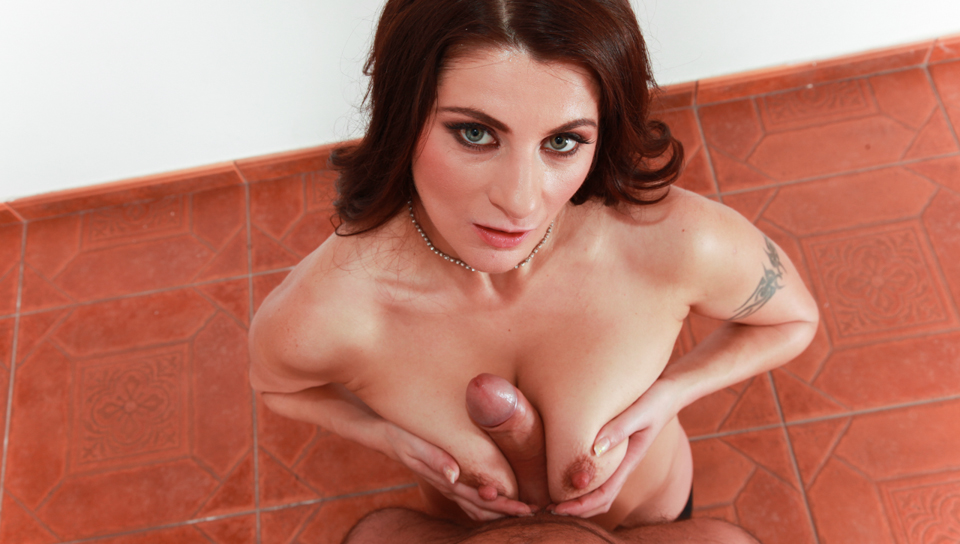 Slutty milf from East Europe with big breasts just for you!
