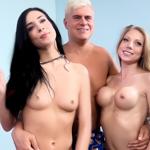 Shawna Lenee & Aiden Ashley pair to tackle Porno Dan's dick