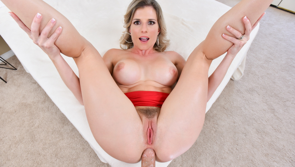 Chris Strokes & Cory Chase - Cheating StepMILF Anally Mind-Fucked!
