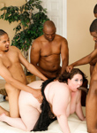 Plus size babes 05. Jellie wants the D! So she gangbangs four