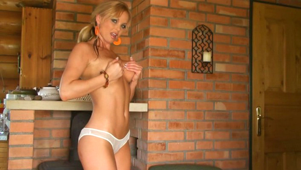 Silvia Saint slowly takes it all off and dances seductively!
