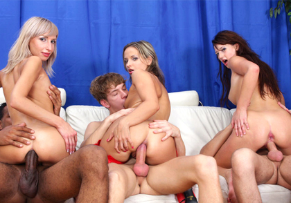 Cream Pie Orgy #13