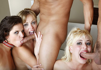 Adrianna Nicole, Bobbi Starr, Andi Anderson dvd porn video from Evil Angel