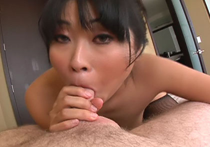Nasty Yuki Mori Enjoys Gagging A Big Fat Cock & Gets Facial