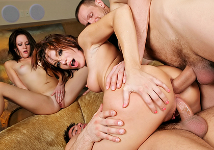 Sindee Jennings, Dana DeArmond dvd porn video from Evil Angel