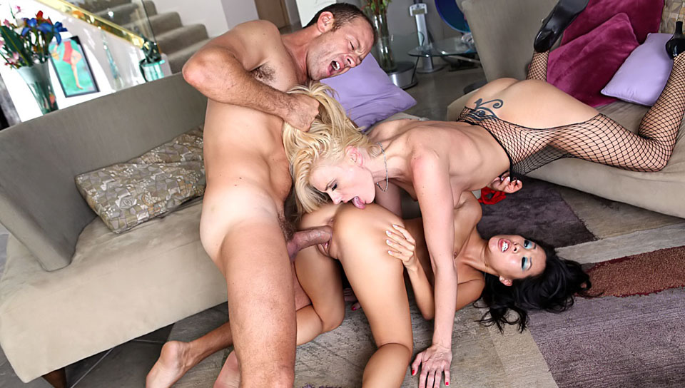 Darryl Hanah, Asa Akira dvd porn video from Evil Angel