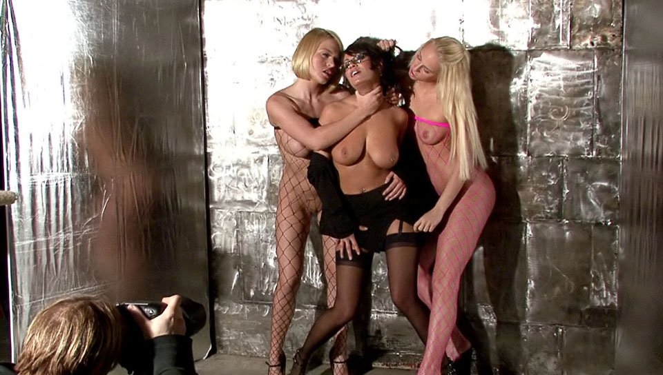 Carla Cox, Charley Chase, Krissy Lynn dvd porn video from Evil Angel