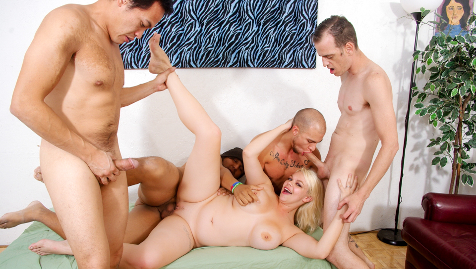 Bi Cuckold Gang Bang #09 - Chad Diamond & Eric Jover & Alice Frost