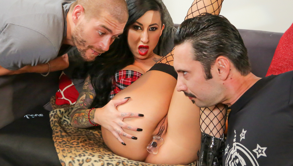 Tommy Pistol & Xander Corvus & Lily Lane - Making The Band XXX - Part 1