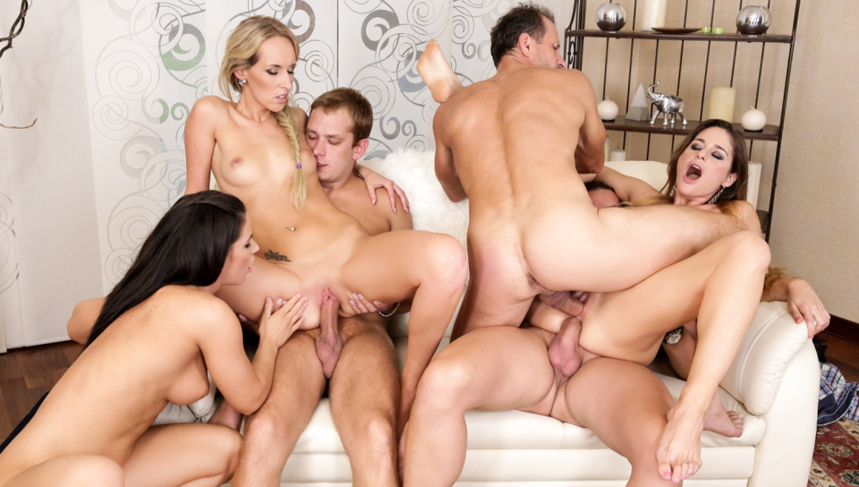 Nothing but swinger orgy pics
