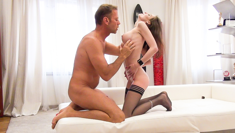 Rocco Siffredi & Mary C - Rocco Auditions Busty Anal Slut Mary