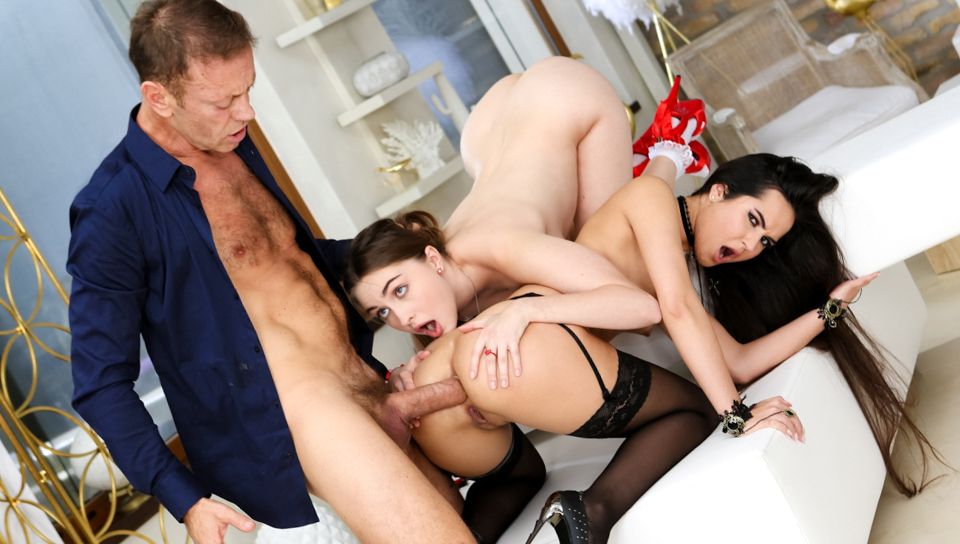 Rocco's Time Master Sex Witches Sc.4 - Rocco Siffredi & Monica Brown & Lena Reif