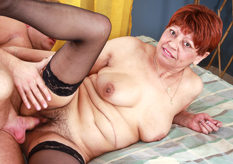 Horny grannies getting fucked for one of the last times!