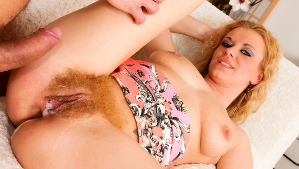 George Uhl & Anita Vixen - My Hairy Cream Pie #19