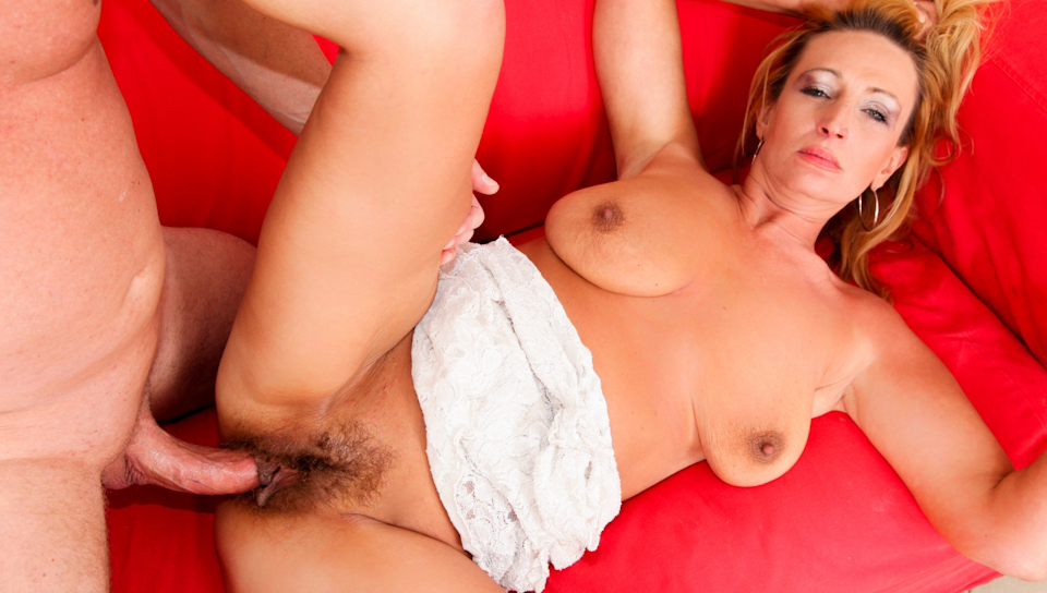 Big tits cream pie