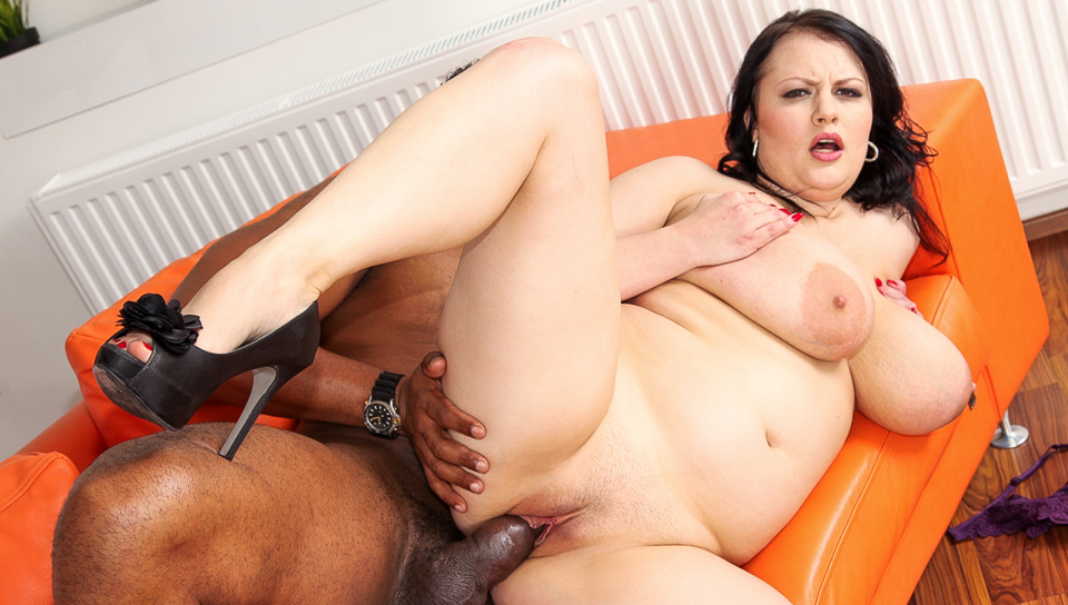Mega busty Barbara Angel is fucked hard in the pussy