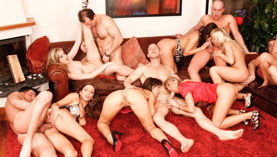 watch free orgy gangbang