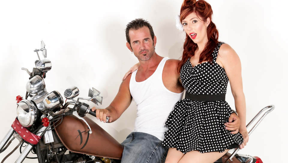 Rusty Nails & Lauren Phillips - Devil ' s Pinup Dollz #02