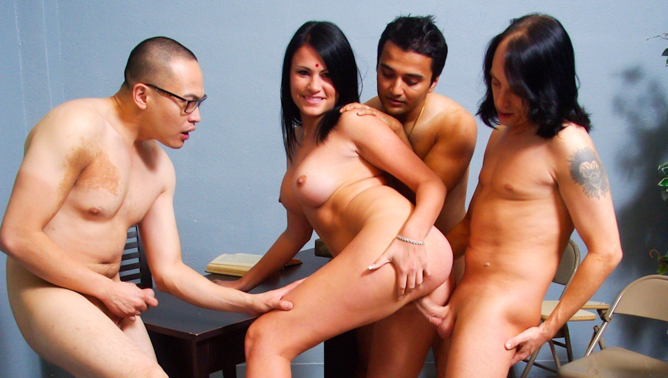 Curry Cream Pie Gang Bang #04...