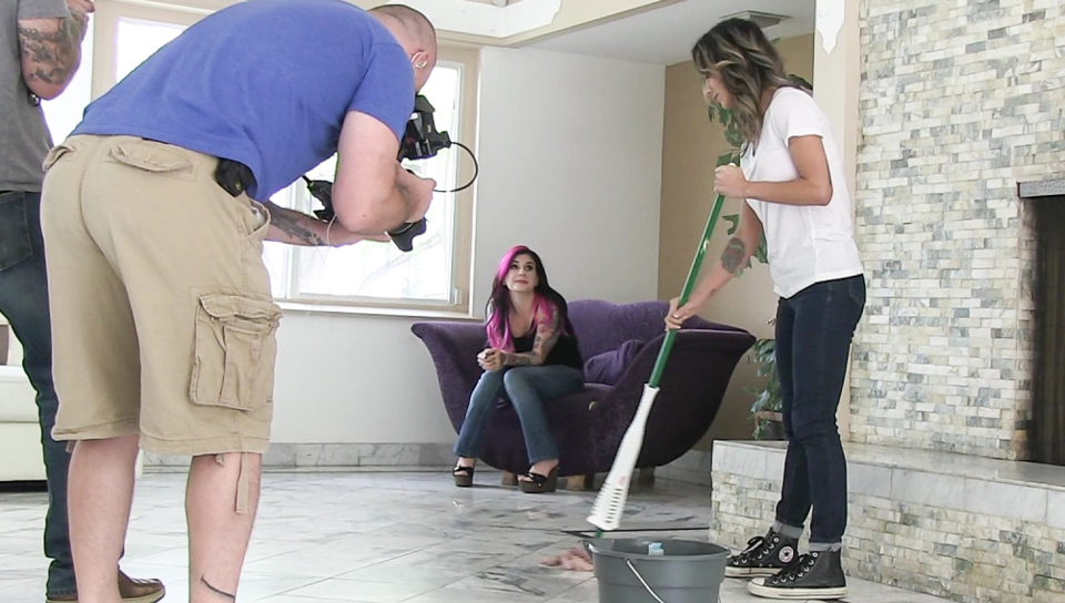 Nadia Styles & Joanna Angel & Small Hands - Behind The Scenes