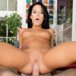 Sex kitten Megan Rain gets fucked in her ass POV
