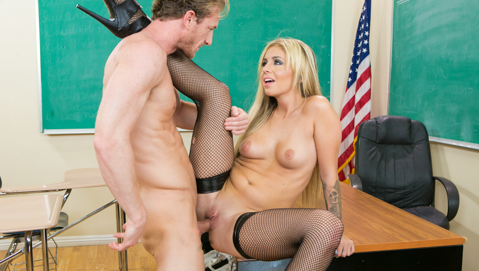 Ryan fantasizes Madelyn into submission while in detention