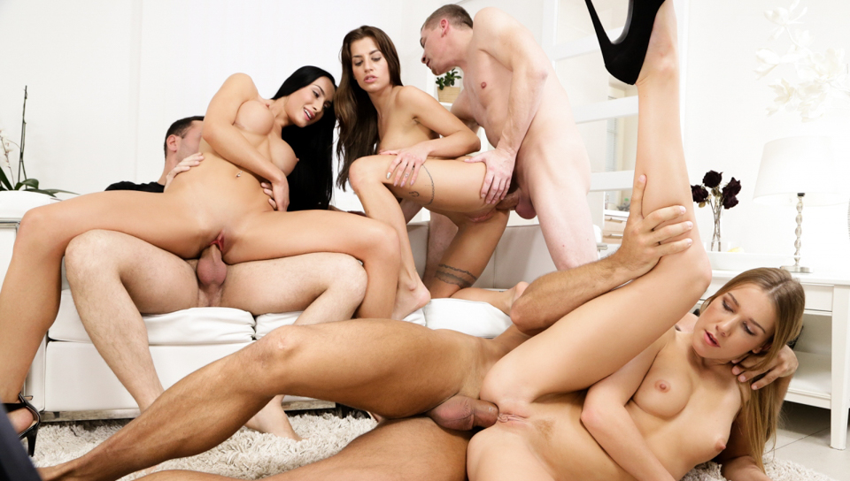 Super hot orgy with the hottest young models out there