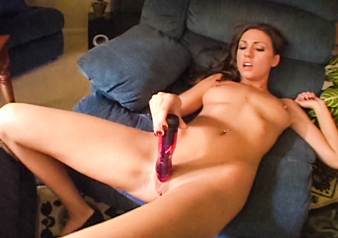 Watch her use her squirting pussy as her favorite toy