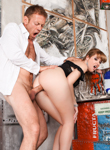 Rocco s perfect slaves 03. Kinky scene turns into a tittle bout