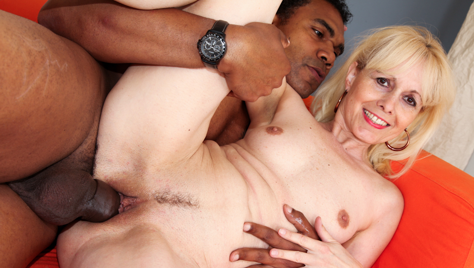 This granny still want a good facial and a big black cock!