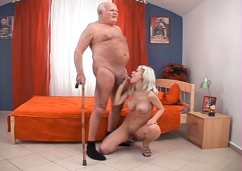 Lola Darling & Grandpa Cocksthrill - This Isn't Bad Grandpa It's A XXX Spoof!