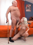 This isn t bad grandpa it s a xxx spoof. Old Soviet Comrade invades polish kitty with his heavy missile. Grandpa Cocksthrill,Lola Darling. Hardcore,Big Breast,Blowjob,Blonde,Mature/MILF