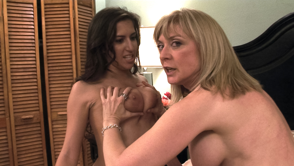 Nina Hartley & April O'neil - BTS-Lesbian Hitchhiker #04