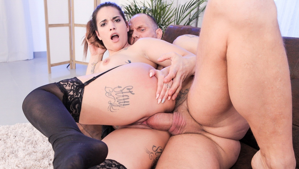 Squirting Latina Kiara's Big Cock Fuck - Nacho Vidal & Kiara Strong