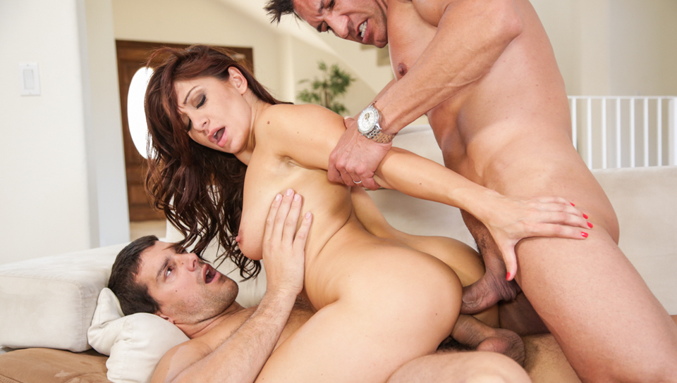 Marco Banderas & Ramon Nomar & Lea Lexis - DP My Wife With Me #03