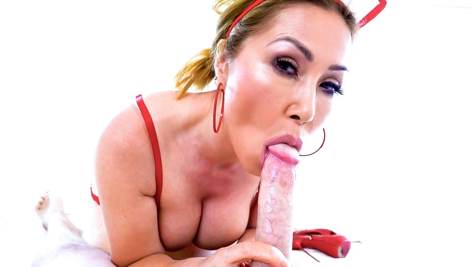 Big-Boob Asian MILF Cumslut Kianna #9 - Kianna Dior & Jonni Darkko