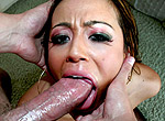 Deepthroat blowjob