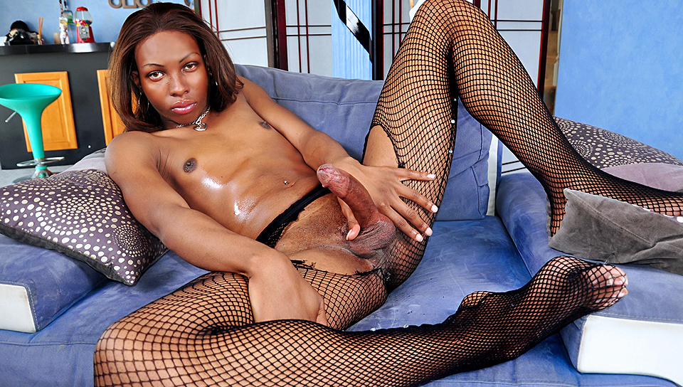 Jessica Dawson tranny/shemale video from I Love Black Shemales