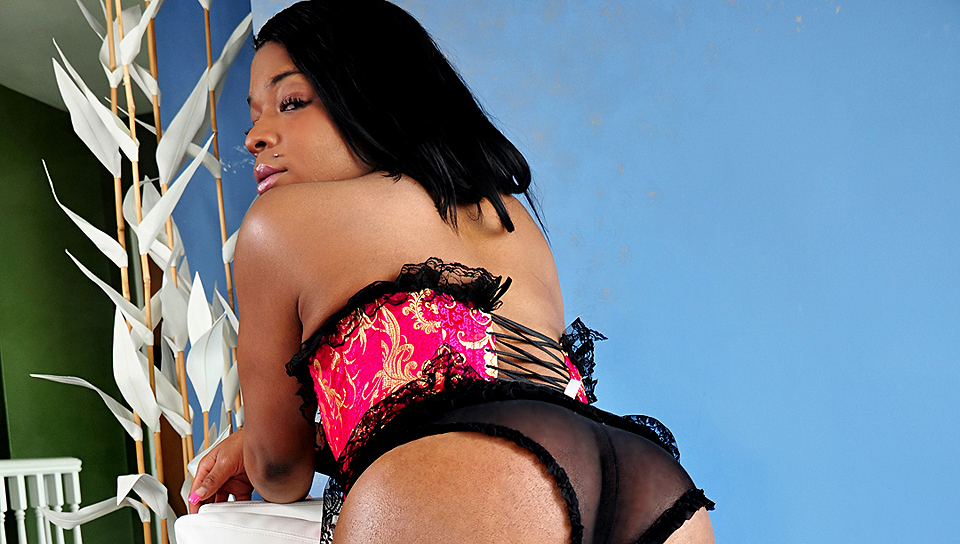 ebony shemale showt haar anale neukgat