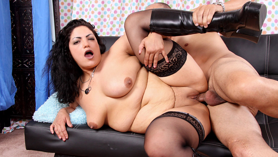 large Fat Chicks prominent Black Dicks 01