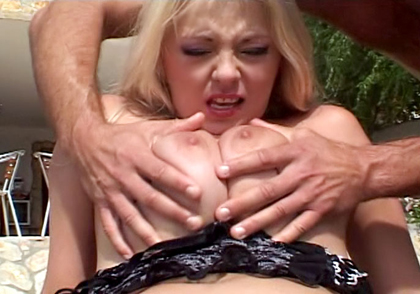 Cute MILF With Huge Tits Is Fucking 2 Boys At Once For Fun