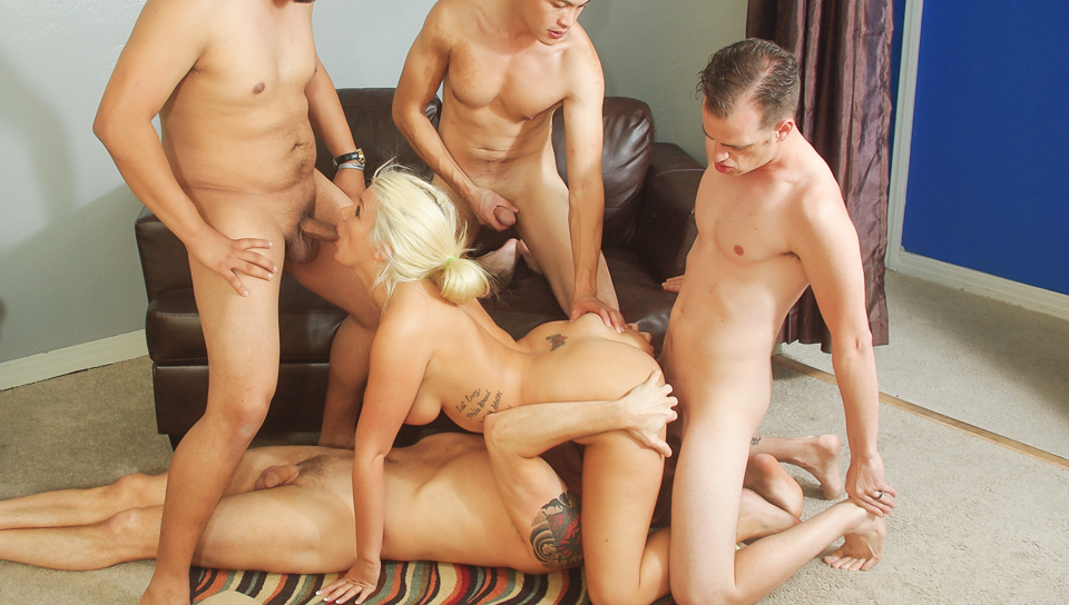 Bi Cuckold Gang Bang #06