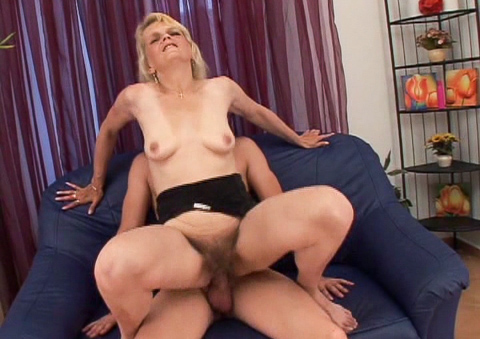 Watch as all these sluts get their hairy pussy creampied!