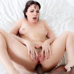 Dana gets an anal surprise from her lover's big black dick.