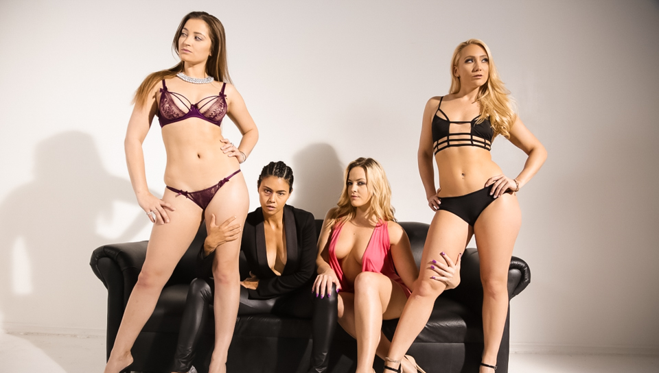 Alexis Texas & Dani Daniels & AJ Applegate - 3 Lesbians Isn't a Crowd!