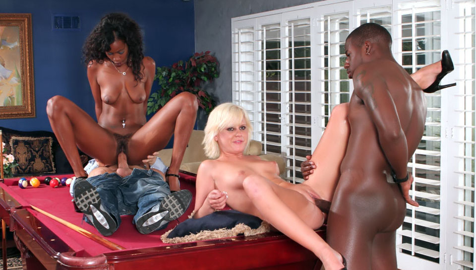 Interracial Swingers #01
