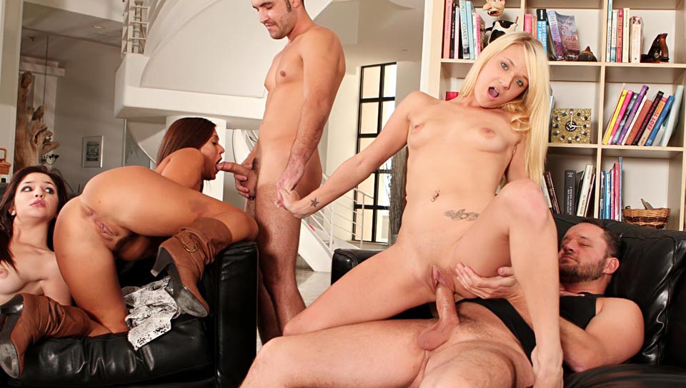Neighborhood Swingers #04 - Alec Knight & Anthony Rosano & Tegan Summers
