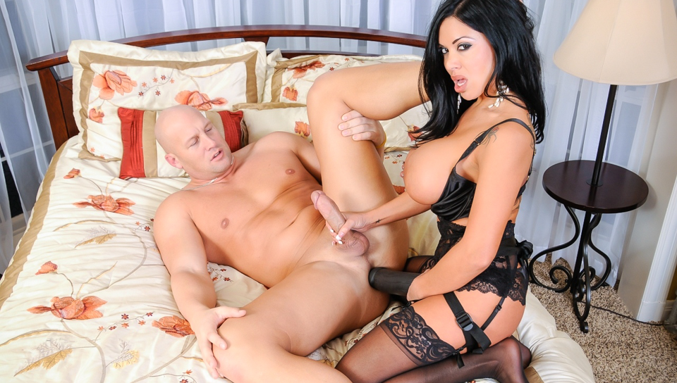 Christian XXX gets plowed by kinky strap-on wielding Latina