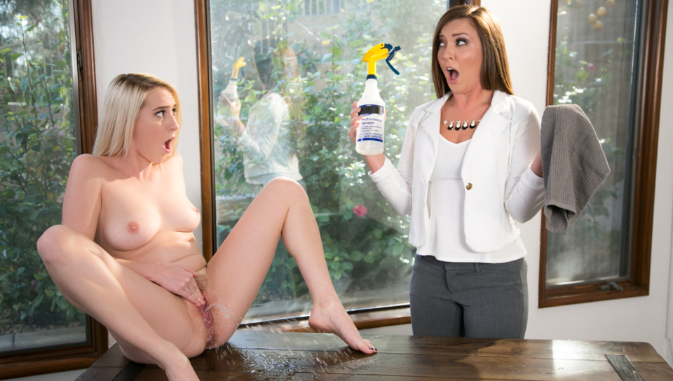 Maddy O'Reilly & Cadence Lux - Squirting Stories Volume Two: Mopping Up