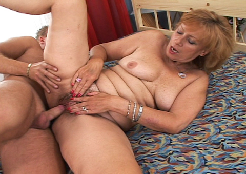 This granny is just perfect wet and horny for her candy!